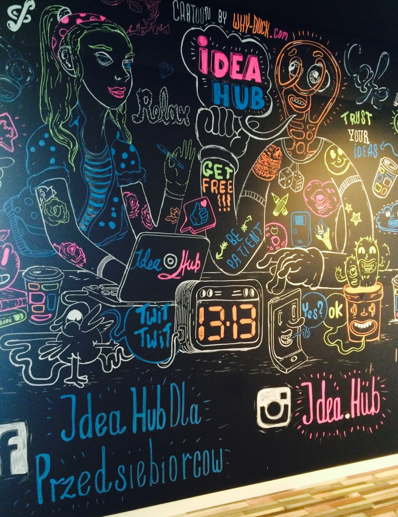 IdeaHub grafiti