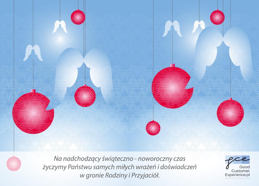 GoodCustomerExperience.pl kartka świąteczna 2015